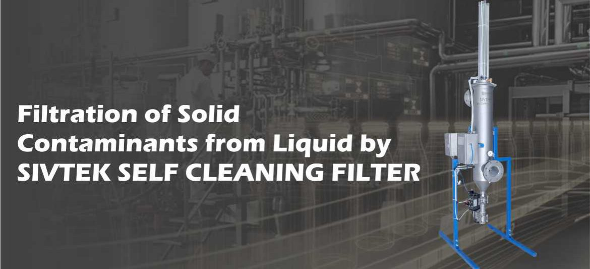 sivtek self cleaning filter