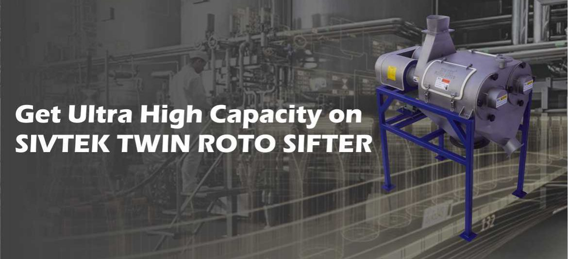 sivtek twin roto sifter