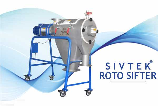 Launched SIVTEK Roto Sifter