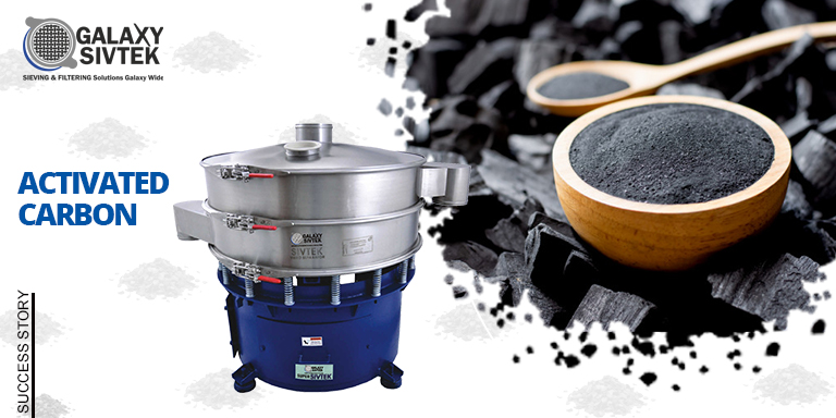 Activated Carbon sieving