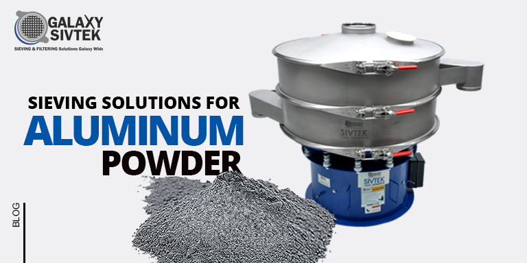 Sieving Aluminium Powder