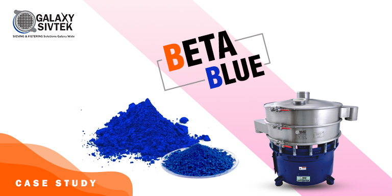 Beta blue sieving
