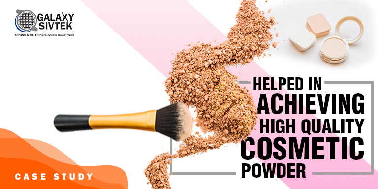 Case Study – Cosmetic Powder