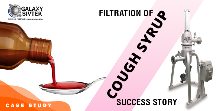 Self-Cleaning Filter for Cough Syrup