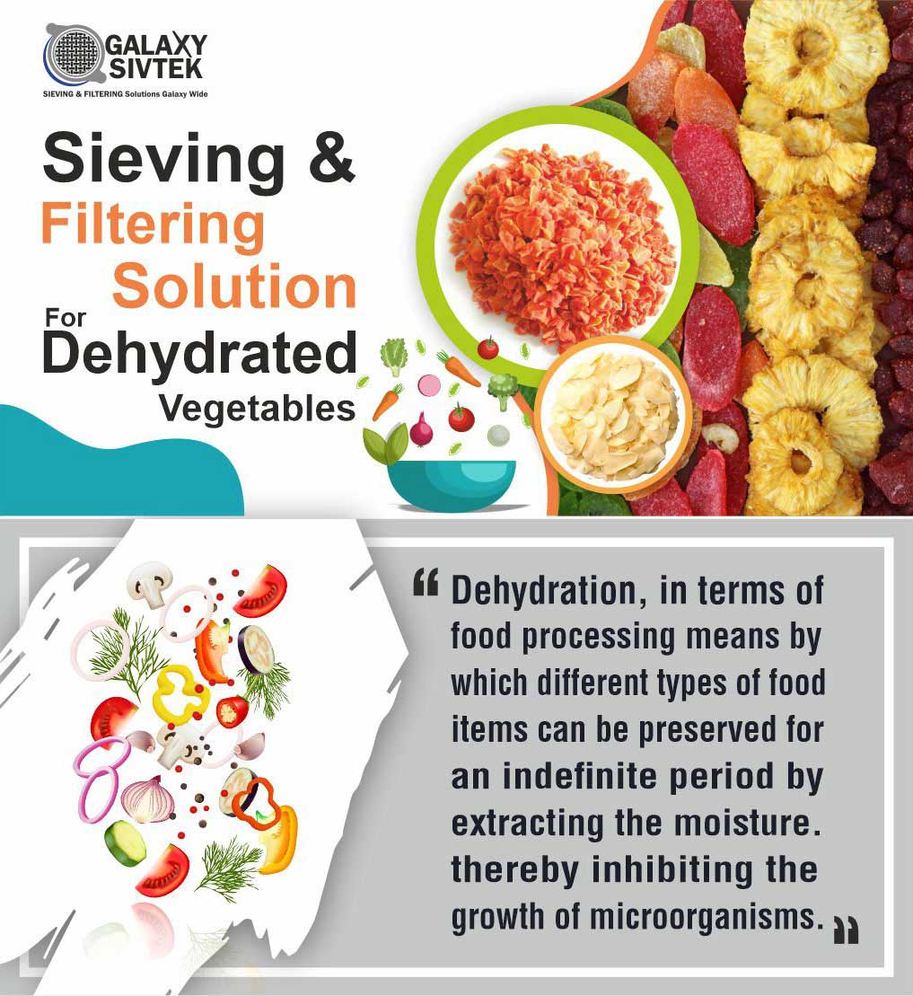 Sieving Solutions For Dehydrated Vegetables