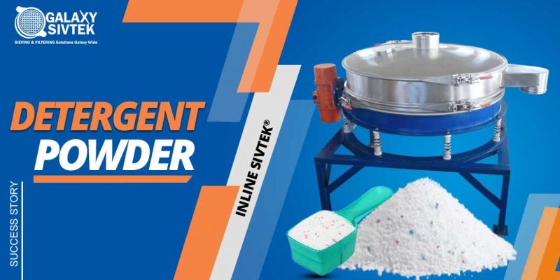 Inline Sifter For Detergent Powder