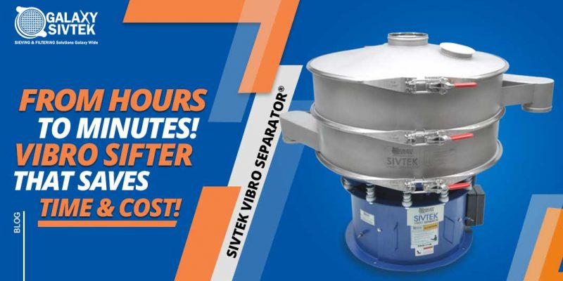 Vibro sifter for sieving fast