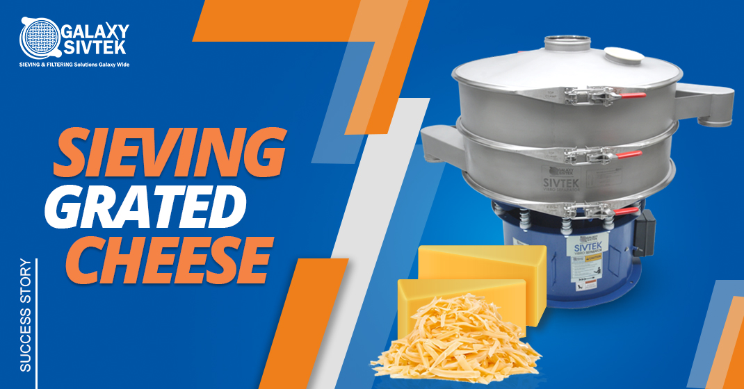 Success Story: Sieving Grated Cheese