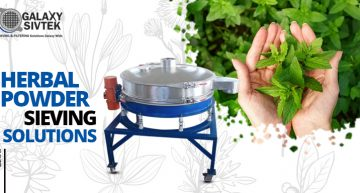 Herbal powder Sieving Solutions