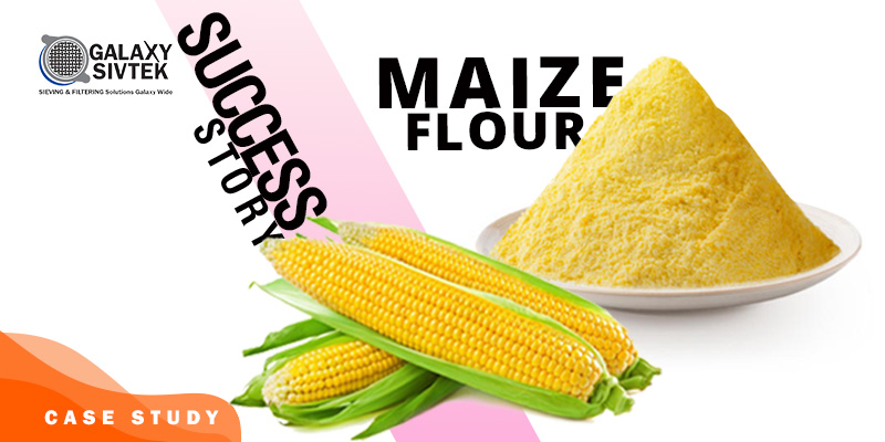 Sieving Maize Flour