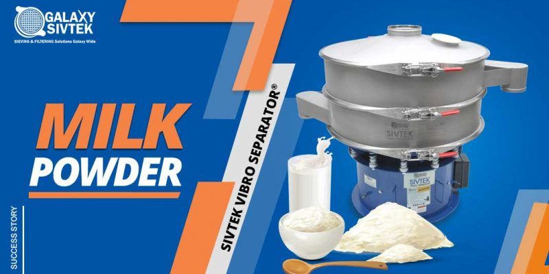 screening Milk Powder With Vibro Sifter