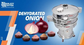 Sieving Dehydrated Onion