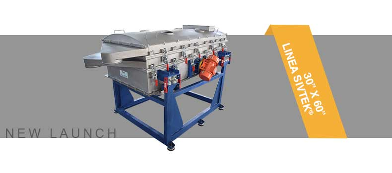 Galaxy Sivtek Launched Small Rectangular Vibrating Screen as on Demand