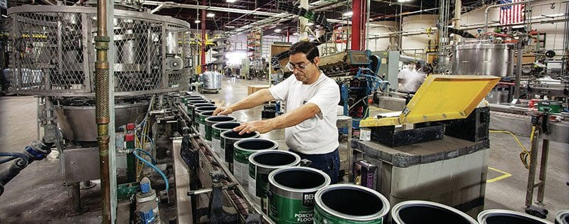 Paint manufacturing company