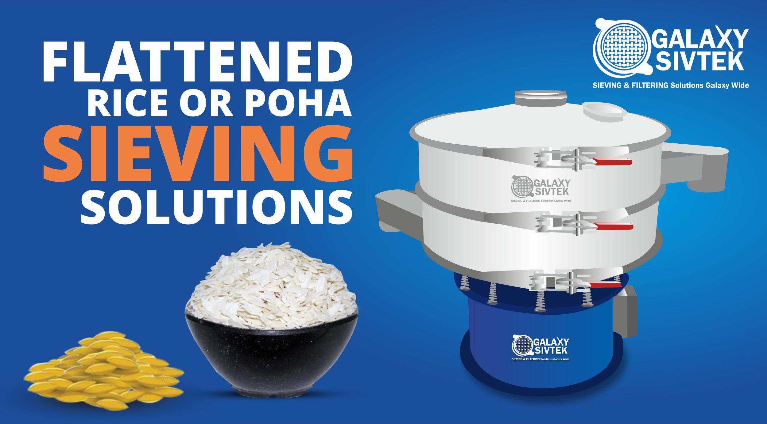 Flattened Rice Sieving Solutions