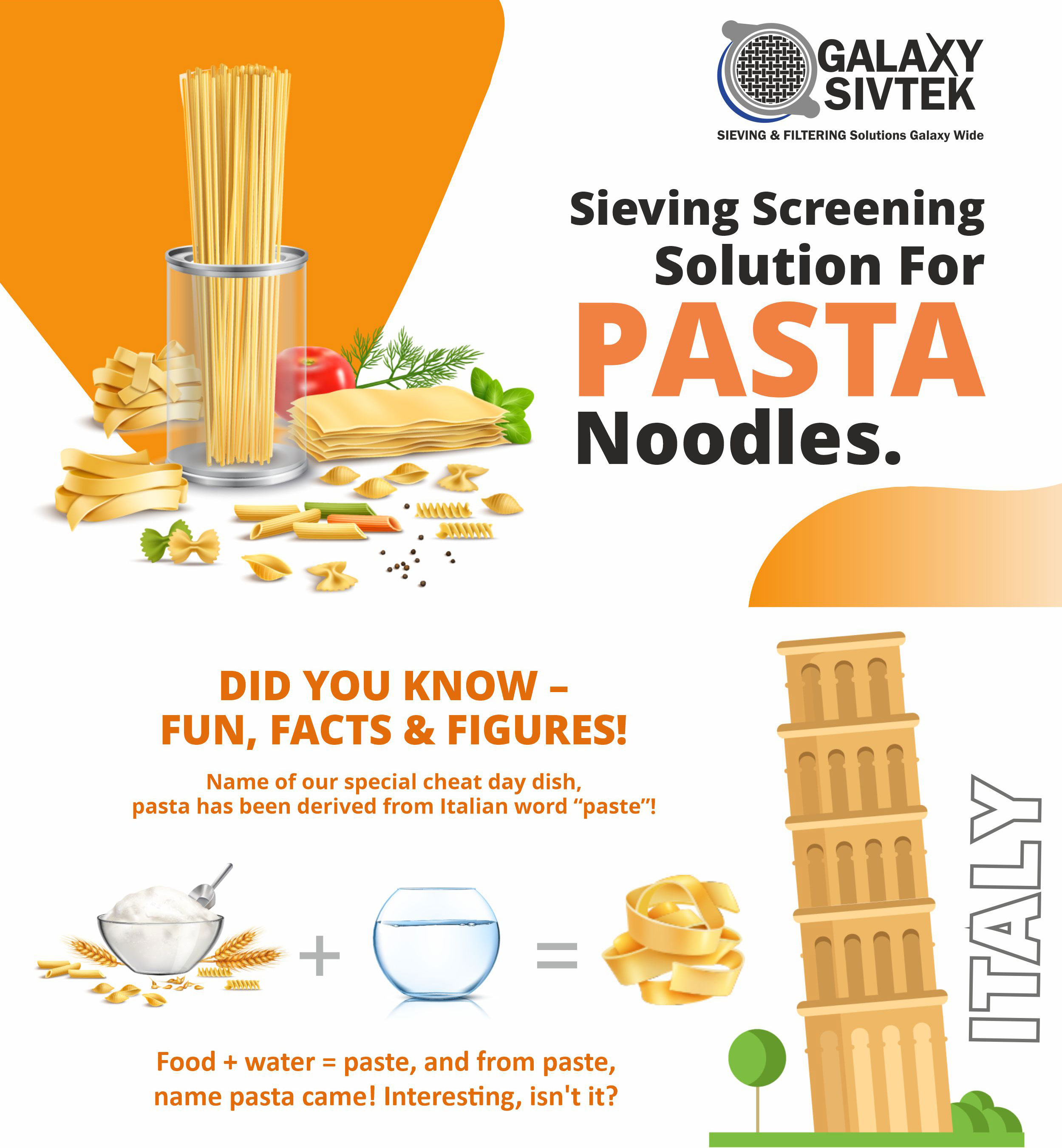 Fun facts about pasta