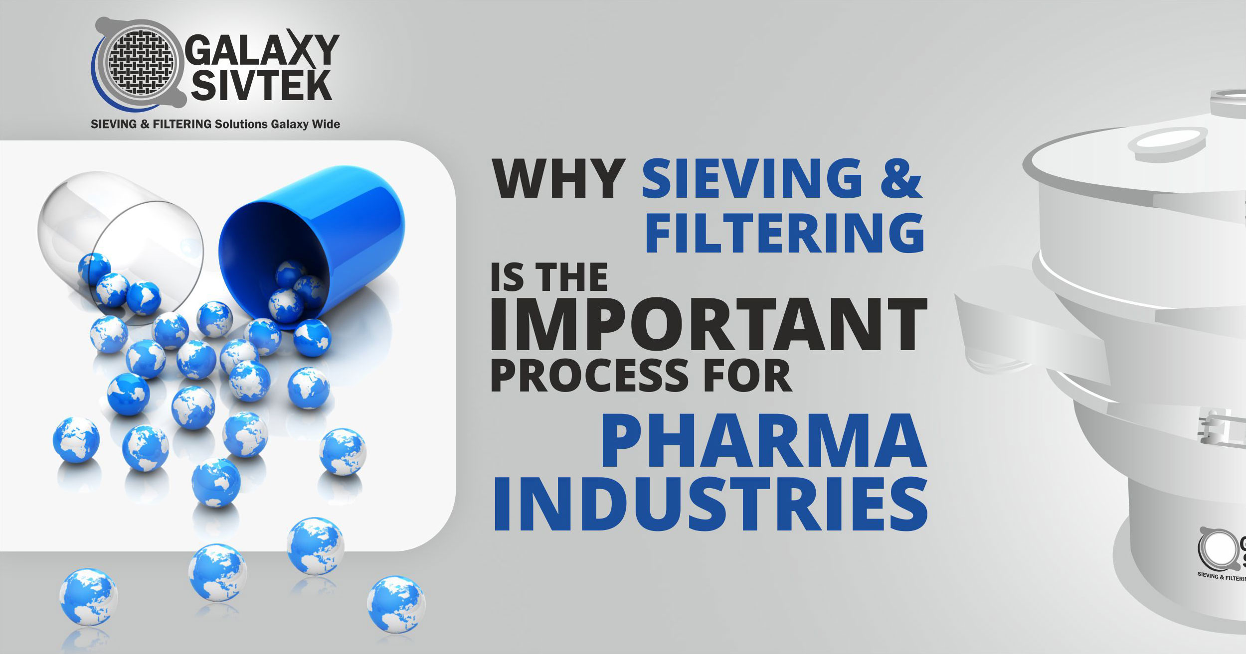 Why Sieving is Important in Pharma
