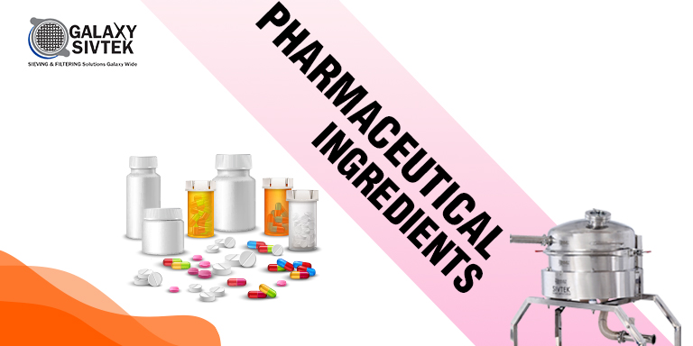 Pharmaceutical Ingredients