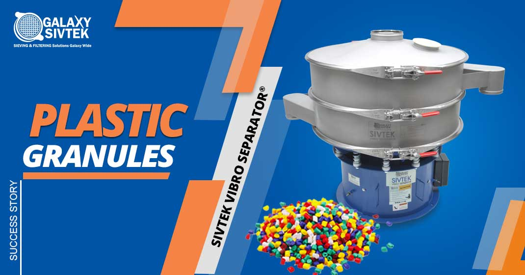 Vibro Sifter For Plastic Granules Gradation