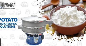 Potato starch sieving solutions