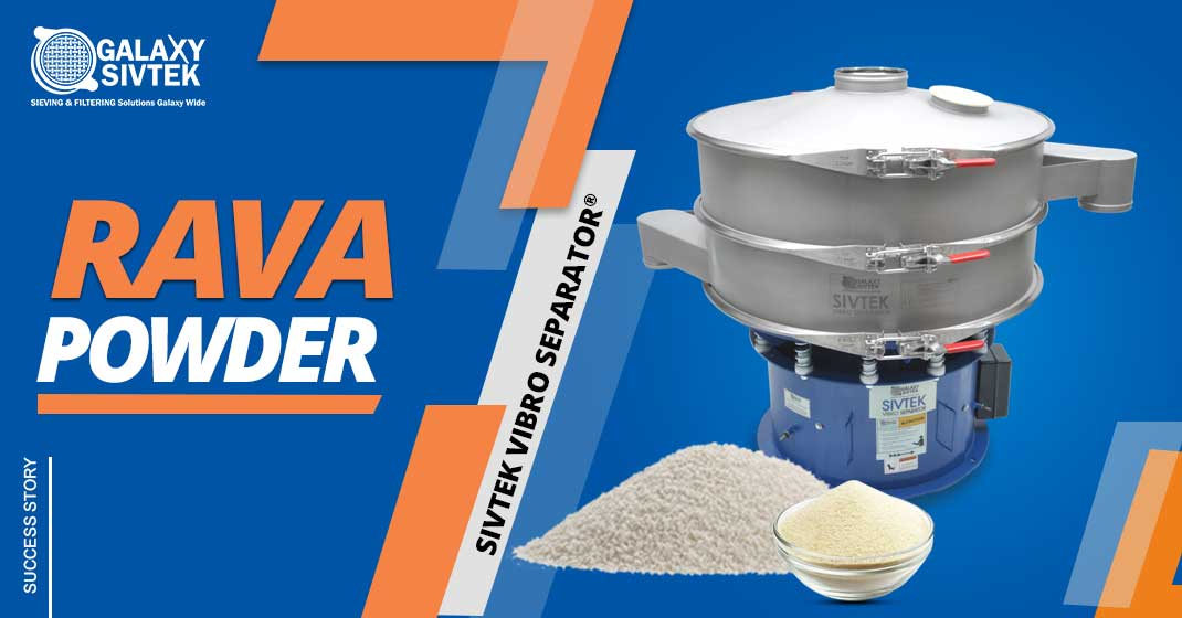 Vibro Sifter For Rava Powder
