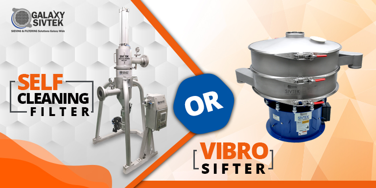 Self-Cleaning Filter or Vibro Sifter
