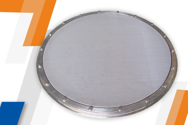 Sandwich Screen Ring For Sifter