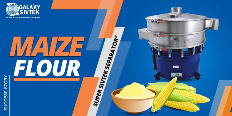 Vibro Separator for Maize Flour
