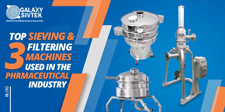 Top 3 sieving & filtration equipment