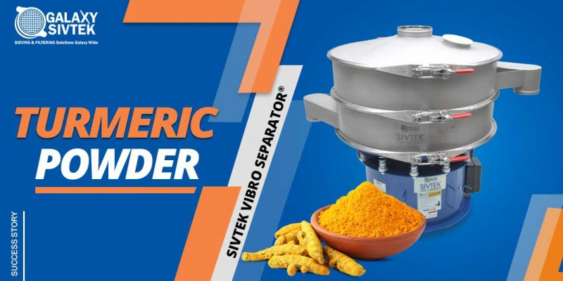 Vibro Sifter For Turmeric Powder