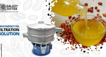 groundnut oil filtration